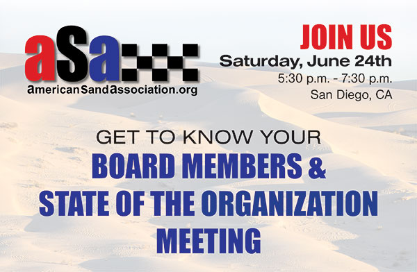 Join us in San Diego June 24, 2017 for an ASA informational meeting