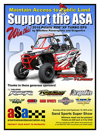 Bryan Whitlock is the lucky winner of the 2016 ASA Giveaway