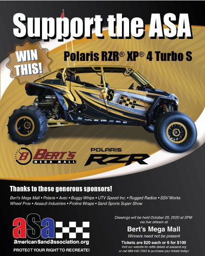 Get tickets for a chance to win a Polaris RZR XP 4 Turbo S