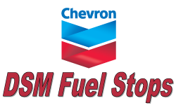 DSM Fuel Stops (4th Street Chevron)